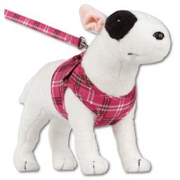 Hundesele Comfy Sele Design Scottish Hot Pink